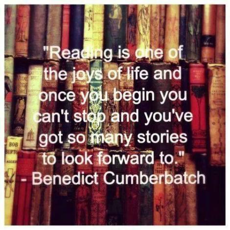 When Actors Talk About Books...